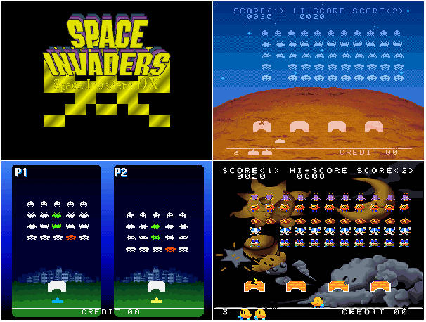 Space Invaders DX