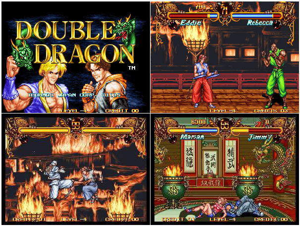 Double Dragon - MVS