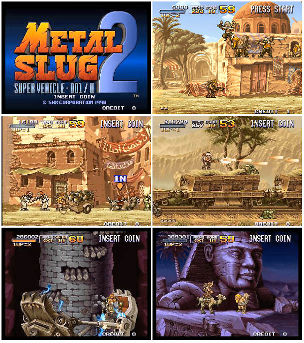 Metal Slug 2 - MVS